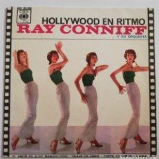 Discos de vinilo: DISCO DE VINILO EP--RAY CONNIFF--HOLLYWOOD EN RITMO. Lote 204713696