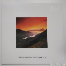 Discos de vinilo: LP STEPHEN CAUDEL, WINE DARK SEA, CANADA 1986, CODA RECORDS NAGE 6, COMO NUEVO(EX_NM). Lote 204716028