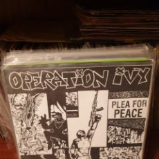 Dischi in vinile: OPERATION IVY / PLEA FOR PEACE / NOT ON LABEL. Lote 204717258