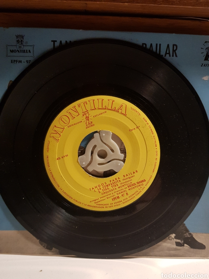 Discos de vinilo: TANGIS PARA BAILAR CAMINITO ESTA NOCHE ME EMBORRACHO.... - Foto 2 - 204722060