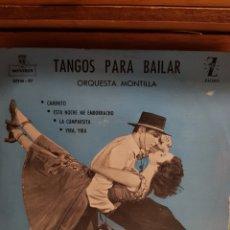 Discos de vinilo: TANGIS PARA BAILAR CAMINITO ESTA NOCHE ME EMBORRACHO..... Lote 204722060