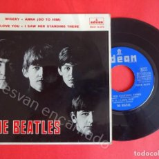 Discos de vinilo: THE BEATLES. MISERY-ANNA (GO TO HIM)-P.S I LOVE YOU-ISAW HER STANDING THERE. EP ODEON 1964. Lote 204728017