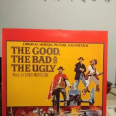 Discos de vinilo: LP ENNIO MORRICONE : THE GOOD, THE BAD AND THE UGLY. Lote 204729976