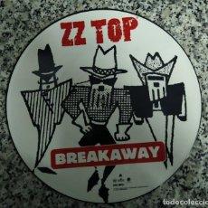 Discos de vinilo: ZZ TOP BREAKAWAY. VINILO. Lote 204732665