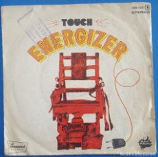 Discos de vinilo: SINGLE / TOUCH / ENERGIZER / ZAFIRO BRUNSWICK SERIE BLACK FEELING 1977. Lote 204739931
