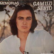 Discos de vinilo: CAMILO SESTO - MEMORIAS. Lote 204742277