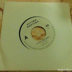 Discos de vinilo: ULTIMO DESTINO – LOVE AND HATE - SINGLE SOLO UNA CARA 1992 - ELECTRONIC - DEPECHE MODE. Lote 204745705