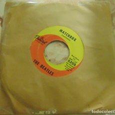 Disques de vinyle: THE BEATLES – SLOW DOWN / MATCHBOX - SINGLE CAPITOL USA 1964. Lote 204746223
