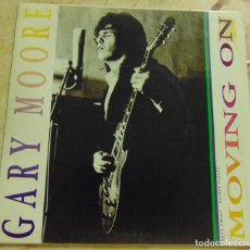 Disques de vinyle: GARY MOORE – MOVING ON - SINGLE PROMO 1991. Lote 204746861