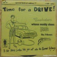Discos de vinilo: VARIOS – TIME FOR A DRIVE! - EP BANDAS AUSTRALIANAS 1995. Lote 204747083