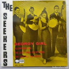 "Discos de vinilo: THE SEEKERS - GEORGY GIRL (7"", EP) (LA VOZ DE SU AMO)EPL 14.345 (D:NM). Lote 204747435"