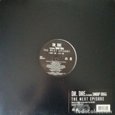 Discos de vinilo: DR. DRE FEATURING SNOOP DOGG ‎– THE NEXT EPISODE MAXI SINGLE 12 PULGADAS USA - GANGSTA RAP HIP HOP #. Lote 204747805