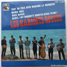 """Discos de vinilo: LES HARICOTS ROUGES - TOUT VA TRES BIEN (7"""", EP) (LA VOZ DE SU AMO) EPL 14.406. Lote 204749311"""