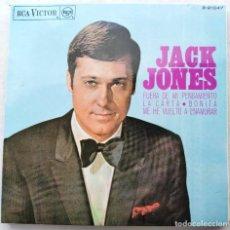 "Discos de vinilo: JACK JONES - JACK JONES (7"", EP) (RCA VICTOR) 3-21047. Lote 204749471"