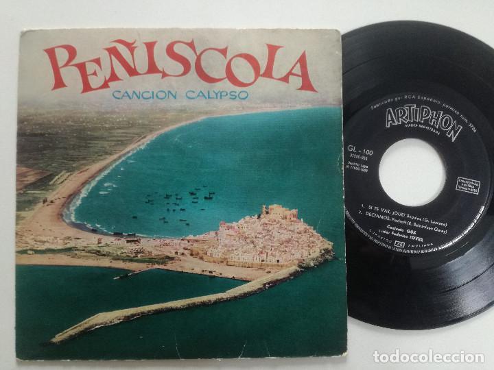 CONJUNTO GUK CON FEDERICO JOVER - PEÑISCOLA (CANCION CALYPSO) +3 - EP ARTYPHON 1962 (Música - Discos de Vinilo - EPs - Pop - Rock Extranjero de los 70)