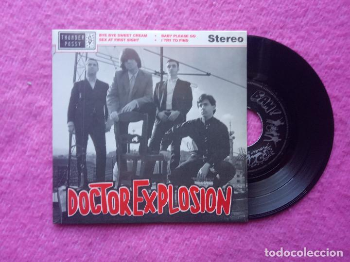 EP DOCTOR EXPLOSION - BYE BYE SWEET CREAM / SEX AT FIRST SIGHT - THUNDERPUSSY TH001 - (NM/NM) (Música - Discos de Vinilo - EPs - Grupos Españoles de los 90 a la actualidad)