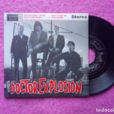 Discos de vinilo: EP DOCTOR EXPLOSION - BYE BYE SWEET CREAM / SEX AT FIRST SIGHT - THUNDERPUSSY TH001 - (NM/NM). Lote 204760798