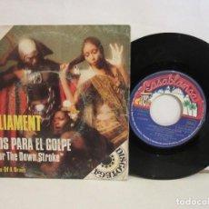 Discos de vinilo: PARLIAMENT - LISTOS PARA EL GOLPE - SINGLE - 1975 - SPAIN - VG/VG. Lote 204768860