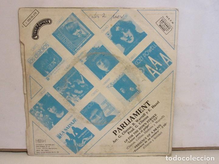 Discos de vinilo: Parliament - Listos Para El Golpe - Single - 1975 - Spain - VG/VG - Foto 2 - 204768860