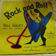 Dischi in vinile: BILL HALEY AND HIS COMETS – CALLING ALL COMETS + 3 - EP. Lote 204771061