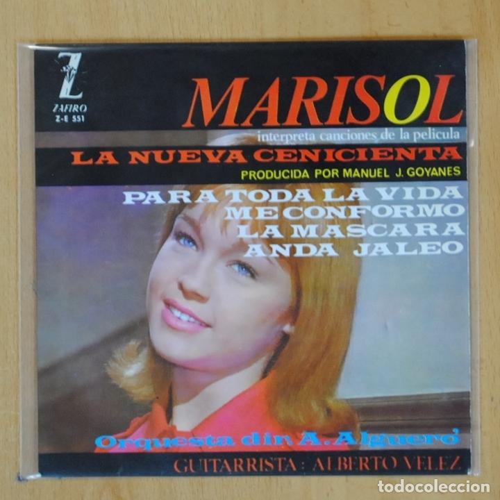 MARISOL - LA NUEVA CENICIENTA - EP (Música - Discos de Vinilo - EPs - Bandas Sonoras y Actores)