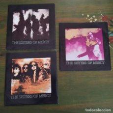 "Discos de vinilo: THE SISTERS OF MERCY. LOTE DE 3 SINGLES 7"".. Lote 204786228"