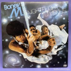 Discos de vinilo: VINILO LP BONEY M NIGHTLIGHT TO VENUS. 1978 - VG++ SPAIN. Lote 204792422