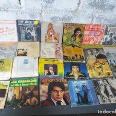 Discos de vinilo: LOTE DE SINGLES ESPAÑOL Y LATINO VARIADOS. Lote 204793951
