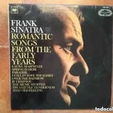 Discos de vinilo: FRANK SINATRA - ROMANTIC SONGS FROM THE EARLY YEARS (LP) 1966. Lote 204794633