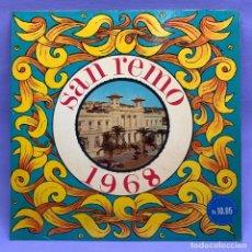 Discos de vinilo: VINILO LP FESTA SAN REMO 1968 VG++ ITALY. Lote 204794737
