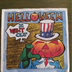 """Discos de vinilo: HELLOWEEN SINGLE 7"""" I WANT OUT / DON'T RUN FOR COVER 1988. Lote 204794870"""