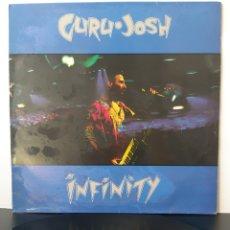 Discos de vinilo: GURU JOSH. INFINITY. RCA? 1990. SPAIN.. Lote 204796791