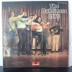 Discos de vinilo: THE DUBLINERS LIVE. THE DUBLINERS. POLYDOR 1974. SPAIN.. Lote 204801305