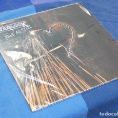 Discos de vinilo: (33) LP WARLOCK TRUE AS STEEL NWOBHM ALEMANIA CIRCA 1986 LEVES SEÑALES DE USO CORRECTO. Lote 204801372
