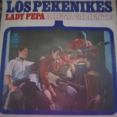 Discos de vinilo: LOS PEKENIKLES - LADY PEPA SINGLE - ORIGINAL ESPAÑOL - HISPAVOX RECORDS 1966 MONOAURAL. Lote 204801921