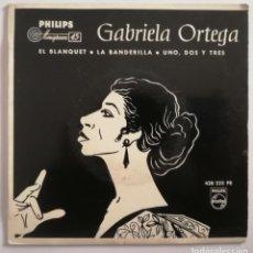 Discos de vinilo: DISCO DE VINILO EP--DANIELA ORTEGA (RECITADORA)--EL BLANQUET. Lote 204802270