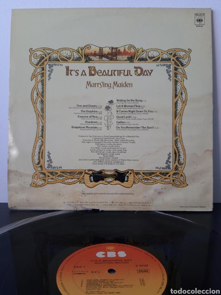 Discos de vinilo: ITS A BEAUTIFUL DAY. MARRYING MAIDEN. 1970. CBS. SPAIN. - Foto 2 - 204803180
