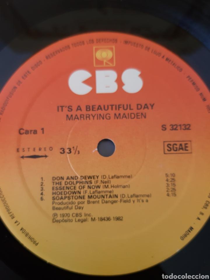 Discos de vinilo: ITS A BEAUTIFUL DAY. MARRYING MAIDEN. 1970. CBS. SPAIN. - Foto 3 - 204803180