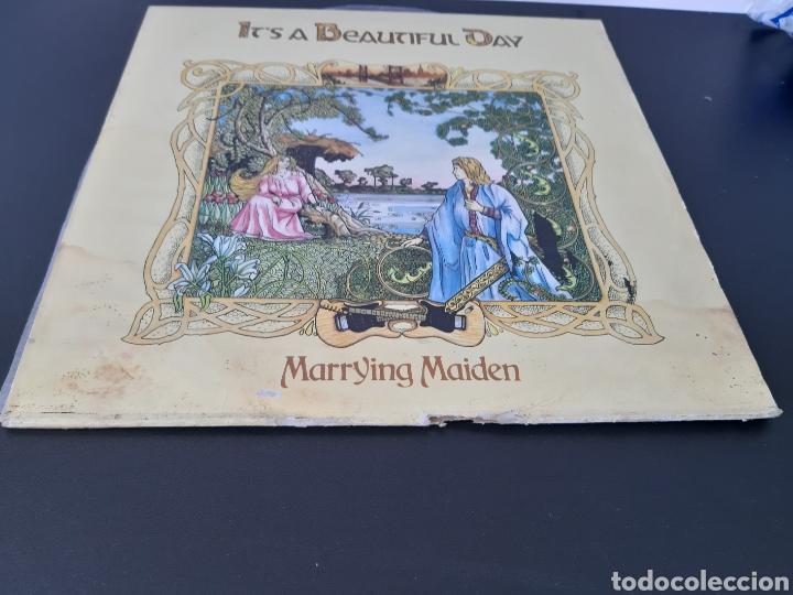 Discos de vinilo: ITS A BEAUTIFUL DAY. MARRYING MAIDEN. 1970. CBS. SPAIN. - Foto 4 - 204803180