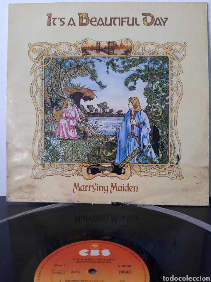 IT'S A BEAUTIFUL DAY. MARRYING MAIDEN. 1970. CBS. SPAIN. (Música - Discos - LP Vinilo - Pop - Rock - Extranjero de los 70)