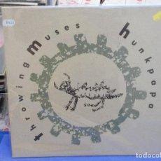Discos de vinilo: (33) LP THROWING MUSES HUNKPAPA 4AD RECORDS 1989 BUEN ESTADO. Lote 204804843