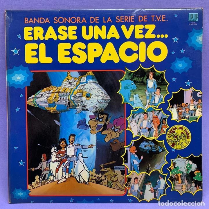 VINILO LP ERASE UNA VEZ EL ESPACIO ... BANDA SONORA DE LA T.V.E - ESPAÑA 1981 VG++ (Música - Discos - LPs Vinilo - Música Infantil)