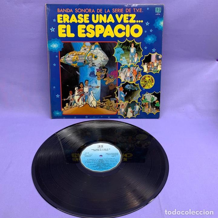 Discos de vinilo: VINILO LP ERASE UNA VEZ EL ESPACIO ... BANDA SONORA DE LA T.V.E - ESPAÑA 1981 VG++ - Foto 2 - 204805122