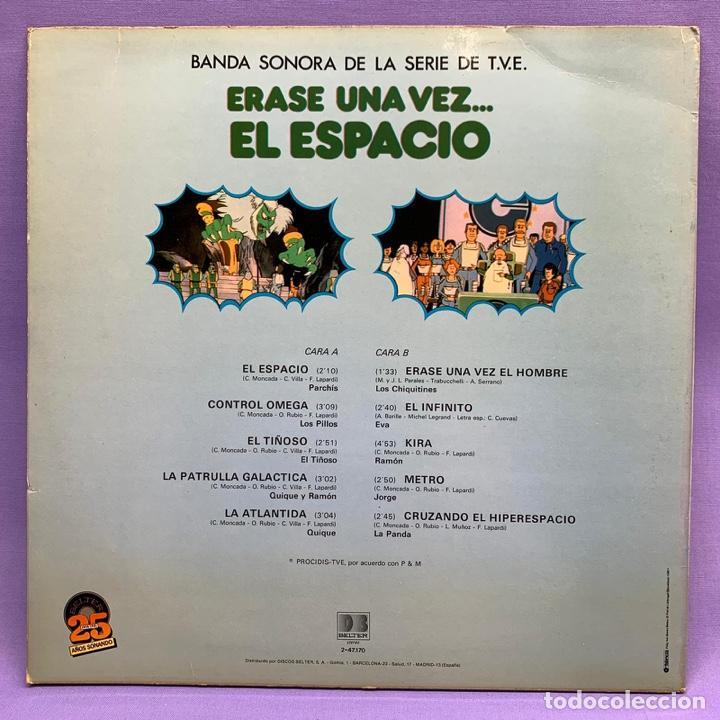 Discos de vinilo: VINILO LP ERASE UNA VEZ EL ESPACIO ... BANDA SONORA DE LA T.V.E - ESPAÑA 1981 VG++ - Foto 3 - 204805122