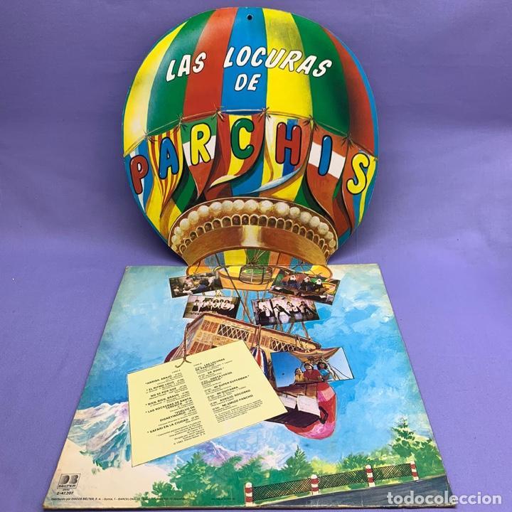 Discos de vinilo: VINILO LP PARCHIS LAS LOCURAS DEL PARCHIS VG++ ESPAÑA 1982- VINILO AMARILLO - Foto 3 - 204806188
