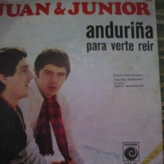 Discos de vinil: JUAN & JUNIOR - ANDURIÑA SINGLE ORIGINAL ESPAÑOL - NOVOLA RECORDS 1968 - MONOAURAL. Lote 204812393