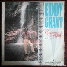 Discos de vinilo: EDDY GRANT - ROMANCING THE STONE - MAXI 45 RPM.. Lote 204814401