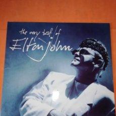 Discos de vinilo: ELTON JOHN. THE VERY BEST OF. PHONOGRAM RECORDS 1990. DOBLE LP. Lote 204819227