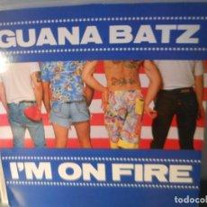 Discos de vinilo: GUANA BATZ - I'M ON FIRE. Lote 204825740