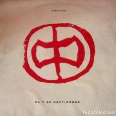 Discos de vinilo: MECANO - EL 7 DE SEPTIEMBRE - MAXI-SINGLE SPAIN 1991. Lote 204828740